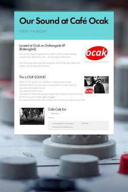 Our Sound at Café Ocak
