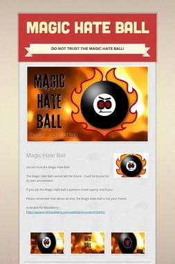 Magic Hate Ball