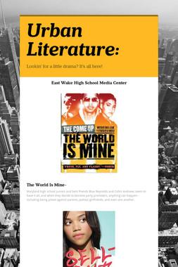 Urban Literature: