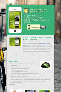 Profit Sentry's Phone Swipe