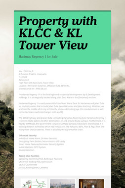 Property with KLCC & KL Tower View