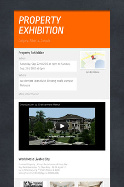 PROPERTY EXHIBITION
