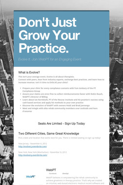 Don't Just Grow Your Practice.