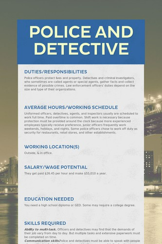 Police and Detective