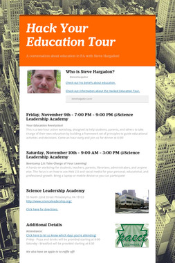 Hack Your Education Tour