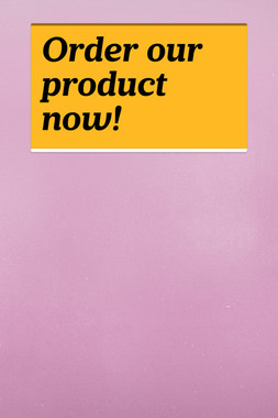 Order our product now!