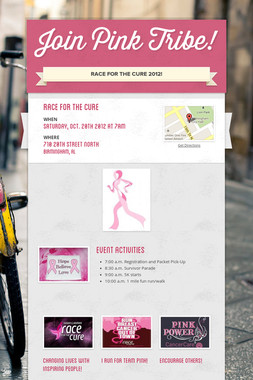 Join Pink Tribe!
