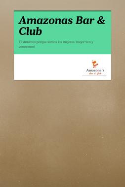 Amazonas Bar & Club