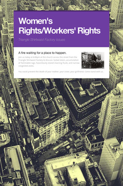 Women's Rights/Workers' Rights