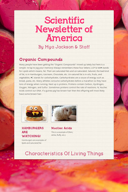 Scientific Newsletter of America