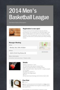 2014 Men's Basketball League
