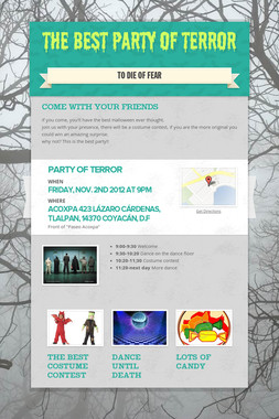 The best Party of Terror