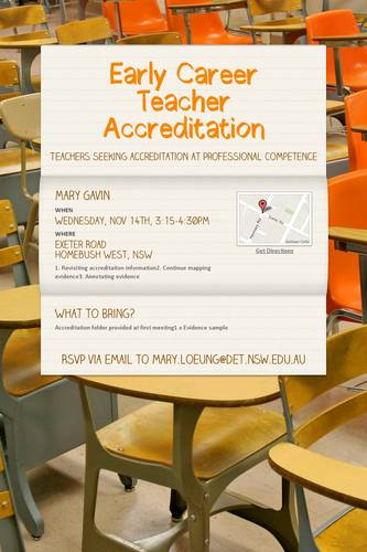 Early Career Teacher Accreditation