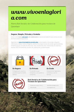 www.vivoenlagloria.com