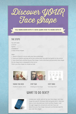 Discover YOUR Face Shape