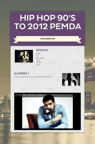 HIP HOP 90's to 2012    PEMDA