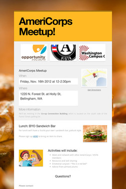 AmeriCorps Meetup!