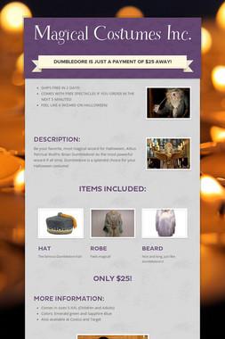 Magical Costumes Inc.