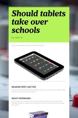 Should tablets take over schools