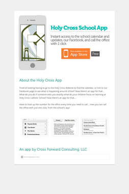Holy Cross School App