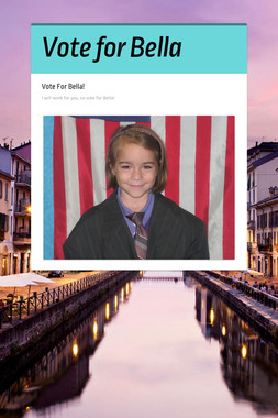 Vote for Bella