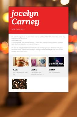 jocelyn Carney