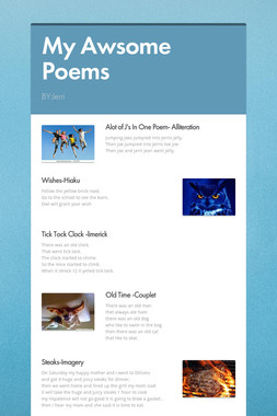 My Awsome Poems