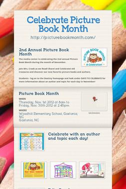 Celebrate Picture Book Month