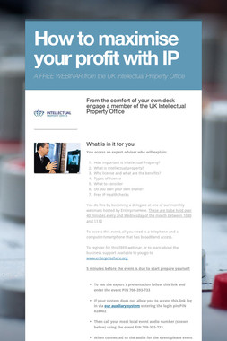 How to maximise your profit with IP
