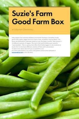 Suzie's Farm Good Farm Box