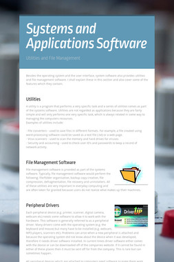Systems and Applications Software
