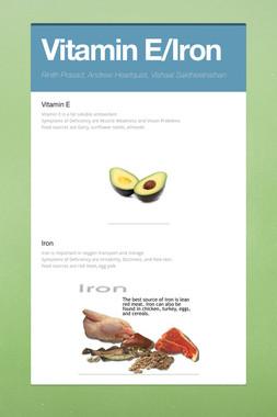 Vitamin E/Iron