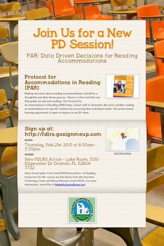 Join Us for a New PD Session!