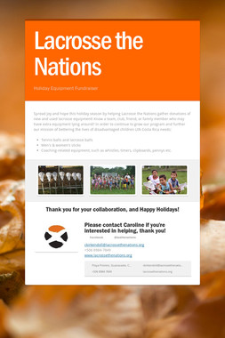 Lacrosse the Nations