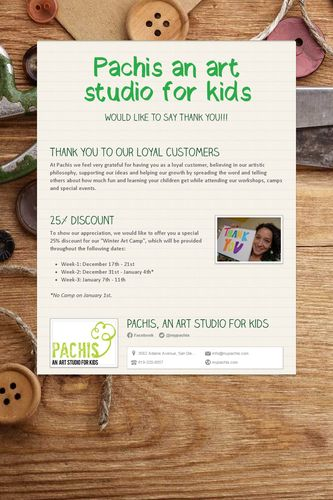 Pachis an art studio for kids