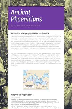 Ancient Phoenicians