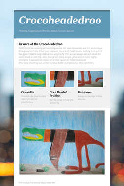 Crocoheadedroo