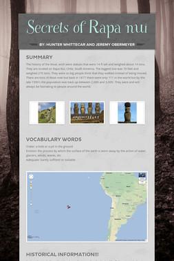 Secrets of Rapa nui