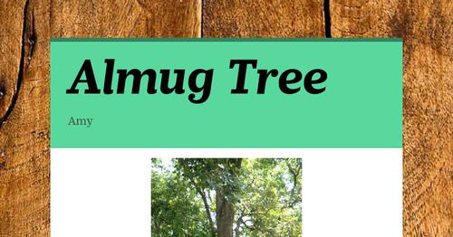 almug tree