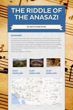 The Riddle of the Anasazi