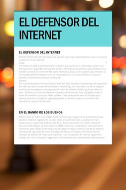 EL DEFENSOR DEL INTERNET