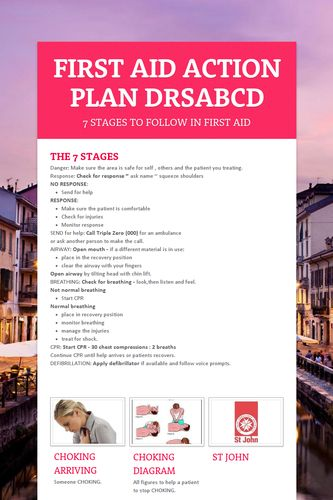 first aid action plan drsabcd