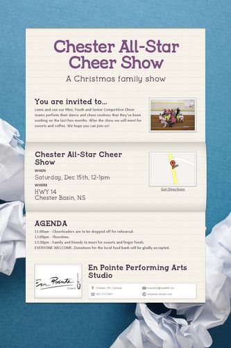 Chester All-Star Cheer Show