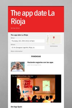 The app date La Rioja