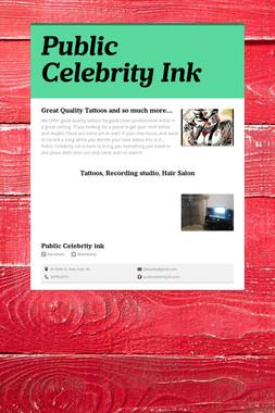 Public Celebrity Ink