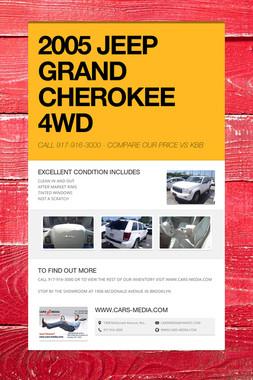 2005 JEEP GRAND CHEROKEE 4WD