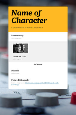 Name of Character