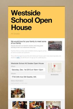 Westside School Open House
