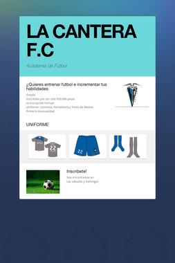 LA CANTERA F.C