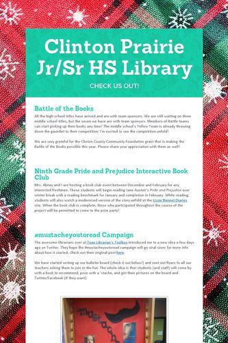 Clinton Prairie Jr/Sr HS Library